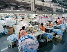 Burtynsky China Chinese Edward Photographs Manufacturing People Production Work