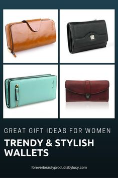 Keep your credit cards organized with this beautiful leather wallets. They are very trendy and stylish. A must have in every ladies handbag. Great gift ideas for women. fine leather women wallets,  women small leather wallets,  womens leather checkbook wallets,  designer women leather wallets,  women leather wallet rfid,  womens leather clutch wallets,