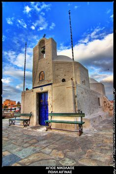 Chapel of Agios Nikolaos, Aegina Island