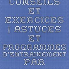 Conseils et exercices | Astuces et programmes d'entrainement par les coachs Domyos