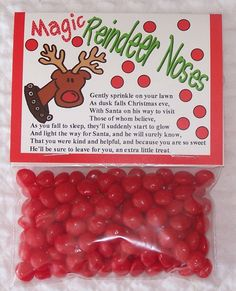 Cute Christmas Gift Idea - Magic reindeer noses