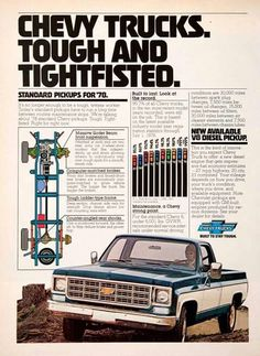 '78 Chevy truck ad