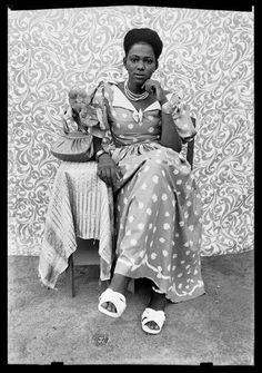 Love the images of Seydou Keita