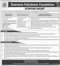 Jobs in Overseas Foundation