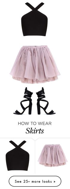 """I'm obsessed with that skirt! 😍"" by camjensen on Polyvore featuring Olympia…"