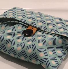 Cloth bag. Travel bag. Toiletry bag. Reusable bag. Kids. Adults. Modern blue canvas bag.  Handmade. by scraphilldesigns on Etsy https://www.etsy.com/listing/223389037/cloth-bag-travel-bag-toiletry-bag