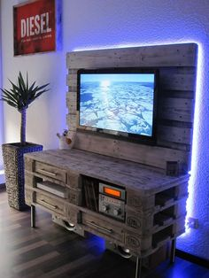 28 Gorgeous DIY Farmhouse Furniture and Decor Ideas For A Rustic Country Home - . decor diy tv stand 28 Gorgeous DIY Farmhouse Furniture and Decor Ideas For A Rustic Country Home – …