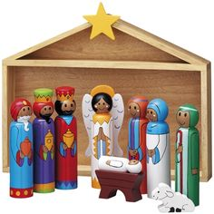 Wooden Nativity Set                                                                                                                                                                                 More