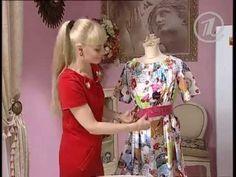 Ольга Никишичева.Платье на лето из трёх прямоугольников ( Dress for the...