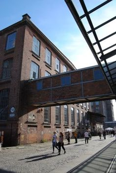 The old cotton mill is a creative space for Leipzig's artists.