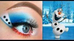 Disney's Frozen: Olaf Inspired Makeup Tutorial