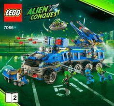 Earth Defense HQ 7066 - LEGO Space - Building Instructions - LEGO.com