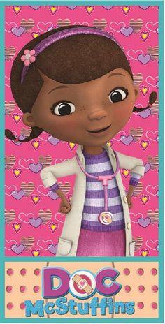 """Toalla """"Doctora Juguetes"""""""