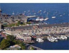 boston harbor, commercial wharf