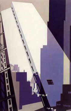 Find artworks by Charles Sheeler (American, 1883 - on MutualArt and find more works from galleries, museums and auction houses worldwide. Art Furniture, Charles Demuth, Pop Art, Scream, Alfred Stieglitz, Art Moderne, Paintings I Love, City Art, Urban Landscape