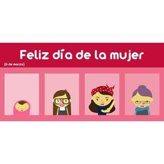 Hoy se conmemora el Día Internacional de la Mujer. Felicidades a todas!