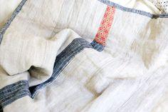 Jess Brown linen quilt