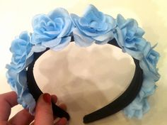 Sweetie Pie Powder Blue Flower Crown