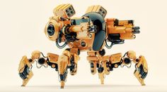 ArtStation - SPIDER dron, Vladislav Ociacia