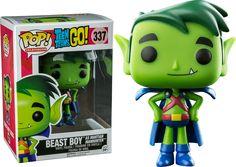 Pop! Television - Teen Titans Go! - Beast Boy as Martian Manhunter