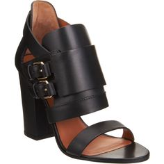 Givenchy - Double Buckle Sandal from Barneys Givenchy Heels, Shoe Boots, Shoe Bag, Crazy Shoes, Strappy Sandals, Open Toe, Fashion Accessories, My Style, Bags