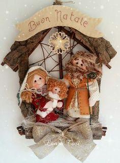 Christmas Nativity, Felt Christmas, Christmas Projects, Christmas Holidays, Christmas Decorations, Christmas Ornaments, Doll Crafts, Felt Ornaments, Beautiful Christmas