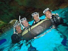 透明度が抜群な青の洞窟でした~! - http://www.natural-blue.net/blog/info_4489.html