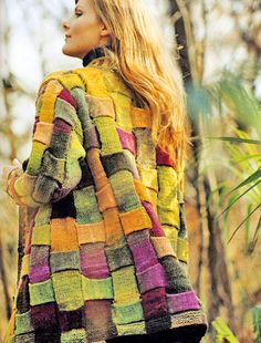 Pattern Knitting Noro Kureyon Sock Yarn Jacket Y 842 at Royal Yarns Makes me wish I knew how to knit