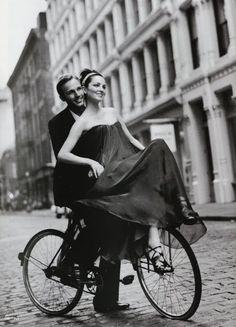 Couple on a bike. #picoftheday