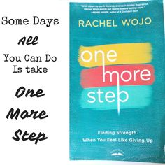 All you can do is take One More Step