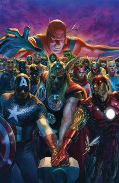 """Alex Ross on Twitter: """"#Avengers #700 Variant cover @Marvel @salcomicbookpro #Marvel #WednesdayWisdom… """""""