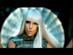 Lady Gaga - Poker Face -  In the mood for some old-school Gaga. Bonus points for the two Harlequin Great Danes ))