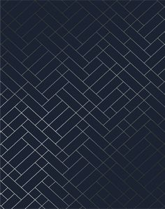 Tapet Cafe Tile, Silver & Navy Blue – The Pattern Collective