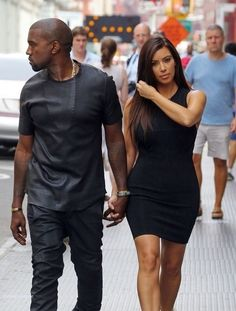 Kanye West And Kim West