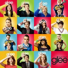I've made a huge glee montage of all the main characters; I'm using this as cover art in iTunes for the Glee Soundtrack. Glee Serie, Film Serie, Best Tv Shows, Best Shows Ever, Favorite Tv Shows, Favorite Things, Cory Monteith, Lea Michele, Film Music Books