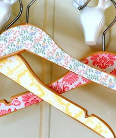 Cute DIY coat hangers