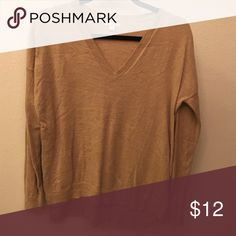 Tan Sweater Long sleeve light sweater for fall GAP Sweaters