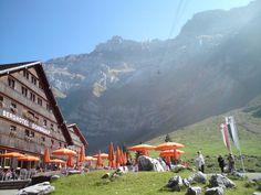 Schwägalp mountain hotel in Switzerland.