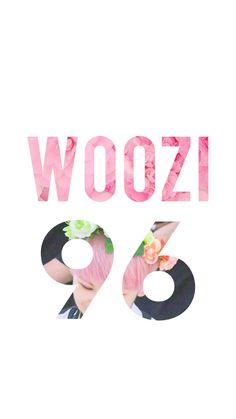 Tela de bloqueio do Woozi, own tão fofinho