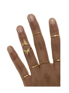 Maria Black, Cascade Ring Gold, Scandinavian Fashion, wild-swans.com