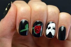 One of my absolute favorite films in nail art form! Love it!