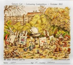 We have just announced the winners from the 20s age category of October's Colouring Comeptition. This category was particularly competitive as it contained the largest number of submissions and some extremely beautiful work.    1st Prize goes to Vera, age 27 from Germany! Congratulations!
