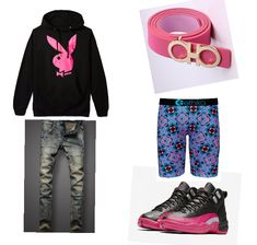 Summer Swag Outfits, Lesbian Outfits, Dope Outfits For Guys, Swag Outfits For Girls, Fresh Outfits, Trendy Outfits, Supreme Clothing, Black Men Street Fashion, Matching Couple Outfits