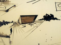 Landmark#render#sketch#perspective