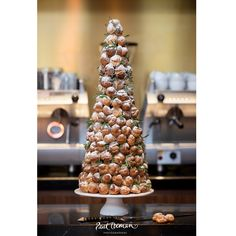 Planning A French Themed Wedding We Recommend Opting For The Traditional Cake Croquembouche