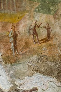 Pompeii Interior Mural Detail