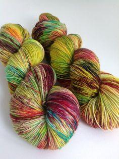 British Bluefaced Leicester Wool Sock Yarn.