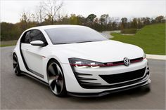 VW Design Vision GTI mit 503 PS! #VW #Design #Vision #GTI #Cars #Chiptuning #Autofaszination