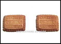 Cabochons biscuits - UNE HISTOIRE DE MODE