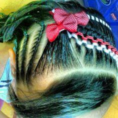Más encintados Hair Styles, Beauty, Hair, Home, Child Hairstyles, Girls Hairdos, Girls Braids, Artistic Make Up, Hair Beauty